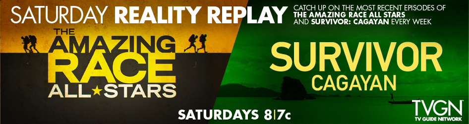 Watch the awesome Amazing Race Sundays 8/7 Central on CBS or catch the replay on TVGN with Survivor!