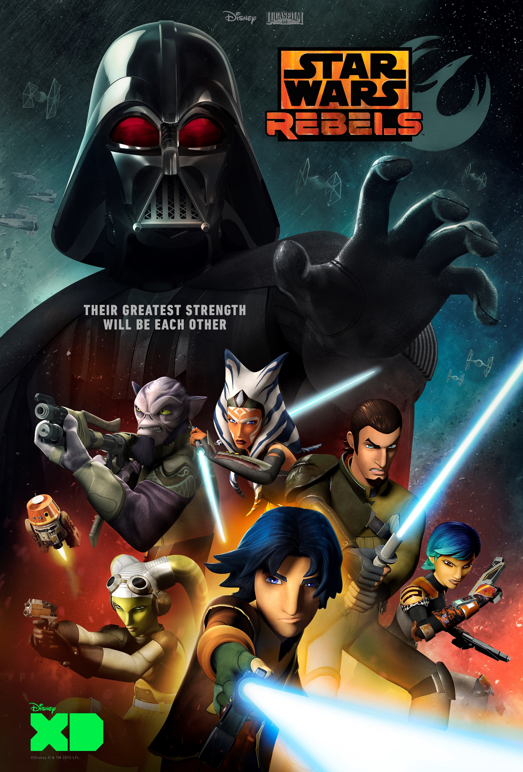 Watch the best animated show on TV, Star Wars Rebels!