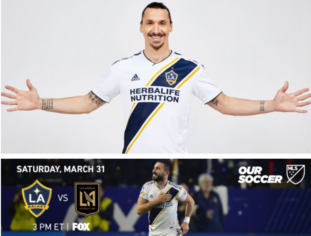 1st ever matchup: LAFC v LA Galaxy