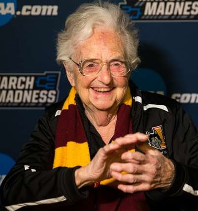 Loyola-Chicago's Sister Jean