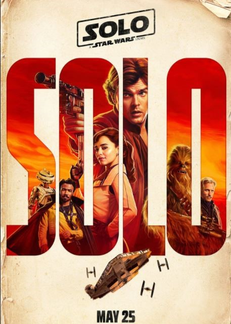 Solo - A Star Wars Story coming soon