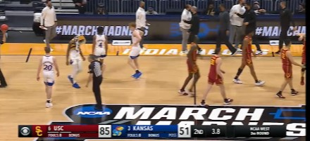 USC beats Kansas by 34; Game over w/3.8 sec left